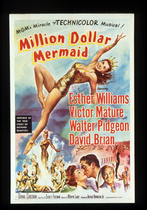 """Million Dollar Mermaid""Poster1952 MGM**I.V. - Image 21795_0001"