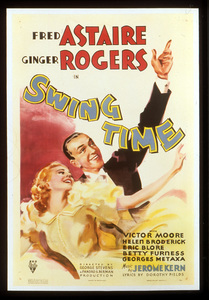 """Swing Time""Poster1936 RKO**I.V. - Image 21796_0001"