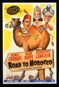 """""""Road to Morocco""""Poster1942 Paramount**I.V. - Image 21797_0001"""