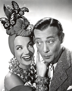 """Gangs All Here""Carmen Miranda & Phil Baker1943 20th Cent.**I.V. - Image 21798_0005"