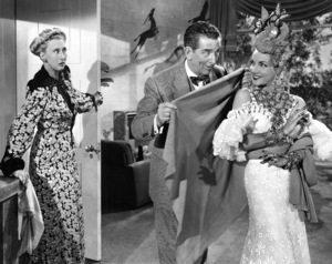 """Gangs All Here""Charlotte Greenwood, Edward Everett Horton, Carmen Miranda1943 20th Cent.**I.V. - Image 21798_0011"