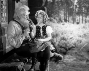 """Heidi""Shirley Temple & Jean Hersholt1937 20th Century Fox**I.V. - Image 21800_0003"