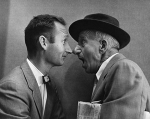 Jimmy Durante and photographer Gene Trindl circa 1960s © 1978 Gene Trindl - Image 21944_0003