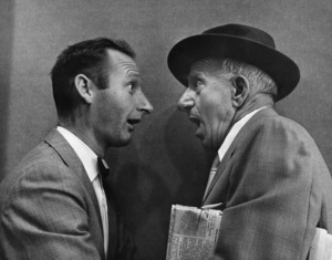 Jimmy Durante and photographer Gene Trindl circa 1960s © 1978 Gene Trindl - Image 21944_0004