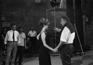 """""""8 1/2""""Claudia Cardinale, director Federico Fellini1963** I.V.C. - Image 22184_0019"""