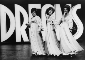 "Jennifer Holliday, Sheryl Lee Ralph and Loretta Devine in ""Dreamgirls"" (Stage version)1981** B.D.M. - Image 22196_0002"