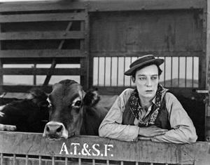 """Go West"" Buster Keaton1925 MGM** I.V. - Image 22216_0003"
