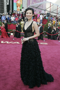 Academy Award presenter Zhang Ziyi arrives at the 77th Annual Academy Awards at the Kodak Theatre in Hollywood, CA on Sunday, February 27, 2005.  HO/AMPAS - Image 22270_0009