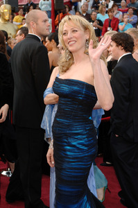 """Virginia Madsen, Academy Award Best Actress nominee for her work in """"Sideways,"""" arrives at the 77th Annual Academy Awards at the Kodak Theatre in Hollywood, CA on Sunday, February 27, 2005.  HO/AMPAS - Image 22270_0012"""