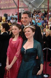 Academy Award Best Actress nominee Imelda Staunton poses with her guests before the 77th Annual Academy Awards at the Kodak Theatre in Hollywood, CA on Sunday, February 27, 2005.  HO/AMPAS - Image 22270_0100