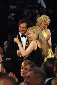 With Academy Award nominee Cate Blanchett looking on, Bill Corso and Valli O
