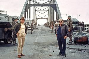 """A Bridge Too Far""Director Richard Attenborough, Producer Joseph E. Levine © 1977 Universal Artists** I.V. - Image 22344_0006"