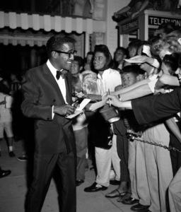 """""""Porgy and Bess"""" (Premiere)Sammy Davis Jr.1959 © 1978 David Sutton - Image 22369_0001"""