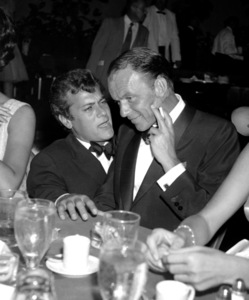 """Porgy and Bess"" (Premiere)Tony Curtis, Frank Sinatra1959 © 1978 David Sutton - Image 22369_0005"