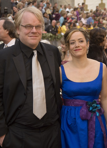 """The 78th Annual Academy Awards"" (Arrivals)Philip Seymour Hoffman, Mimi O"