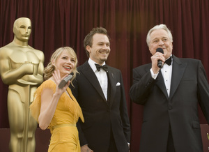 """The 78th Annual Academy Awards"" (Arrivals)Michelle Williams, Heath Ledger, Robert Osborne03-05-2006 / Kodak Theatre / Hollywood, CA © 2006 AMPAS - Image 22701_0010"