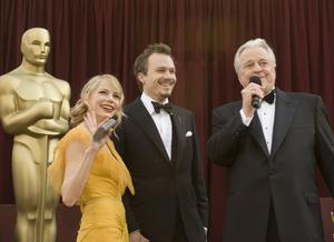 """The 78th Annual Academy Awards"" (Arrivals)Michelle Williams, Heath Ledger, Robert Osborne03-05-2006 / Kodak Theatre / Hollywood, CA © 2006 AMPAS - Image 22701_0010"