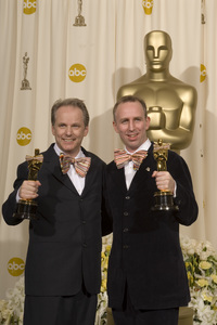"""The 78th Annual Academy Awards"" (Press Room)Nick Park, Steve Box03-05-2006 / Kodak Theatre / Hollywood, CA © 2006 AMPAS - Image 22701_0026"