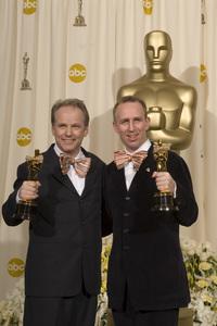 """The 78th Annual Academy Awards"" (Press Room)Nick Park, Steve Box03-05-2006 / Kodak Theatre / Hollywood, CA © 2006 AMPAS - Image 22701_0026"