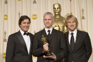 """The 78th Annual Academy Awards"" (Press Room)Luke Wilson, Martin McDonagh, Owen Wilson03-05-2006 / Kodak Theatre / Hollywood, CA © 2006 AMPAS - Image 22701_0027"