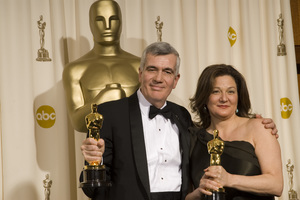 """The 78th Annual Academy Awards"" (Press Room)John Canemaker, Peggy Stern03-05-2006 / Kodak Theatre / Hollywood, CA © 2006 AMPAS - Image 22701_0028"