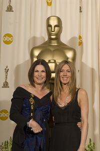 """""""The 78th Annual Academy Awards"""" (Press Room)Colleen Atwood, Jennifer Aniston03-05-2006 / Kodak Theatre / Hollywood, CA © 2006 AMPAS - Image 22701_0029"""