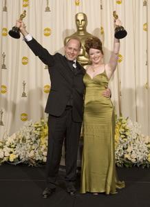 """The 78th Annual Academy Awards"" (Press Room)Corinne Marrinan, Eric Simonson03-05-2006 / Kodak Theatre / Hollywood, CA © 2006 AMPAS - Image 22701_0031"