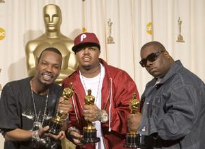 """The 78th Annual Academy Awards"" (Press Room)Jordan Houston (aka Juicy J), Paul Beauregard (aka D.J. Paul), Cedric Coleman03-05-2006 / Kodak Theatre / Hollywood, CA © 2006 AMPAS - Image 22701_0037"