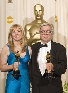 """The 78th Annual Academy Awards"" (Press Room)Diana Ossana, Larry McMurtry03-05-2006 / Kodak Theatre / Hollywood, CA © 2006 AMPAS - Image 22701_0043"