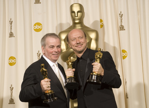 """The 78th Annual Academy Awards"" (Press Room)Robert Moresco, Paul Haggis03-05-2006 / Kodak Theatre / Hollywood, CA © 2006 AMPAS - Image 22701_0044"