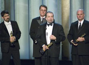 """The 78th Annual Academy Awards"" (Telecast)Christian Rivers, Richard Taylor, Joe Letteri, Brian Van"
