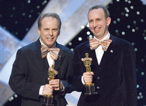 """The 78th Annual Academy Awards"" (Telecast)Nick Park, Steve Box03-05-2006 / Kodak Theatre / Hollywood, CA © 2006 AMPAS - Image 22701_0052"