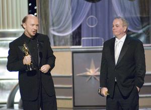 """The 78th Annual Academy Awards"" (Telecast)Paul Haggis, Robert Moresco03-05-2006 / Kodak Theatre / Hollywood, CA © 2006 AMPAS - Image 22701_0070"