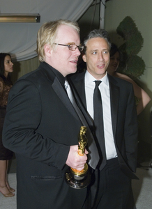 """""""The 78th Annual Academy Awards"""" (After Party)Philip Seymour Hoffman, Jon Stewart03-05-2006 / Kodak Theatre / Hollywood, CA © 2006 AMPAS - Image 22701_0074"""