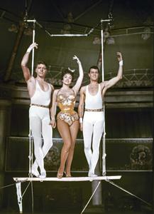 """Trapeze""Burt Lancaster, Gina Lollobrigida, Tony Curtis1956 United Artists** I.V. - Image 22727_0436"