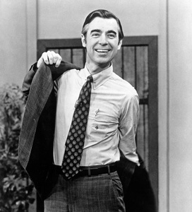 "Fred Rogers in ""Mister Rogers"