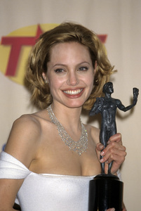 """Angelina Jolie at """"The 5th Annual Screen Actors Guild Awards""""1999© 1999 Gary Lewis - Image 22776_0019"""