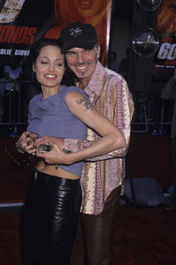 "Angelina Jolie and Billy Bob Thornton at the premiere of ""Gone in Sixty Seconds""2000© 2000 Gary Lewis - Image 22776_0020"