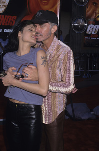"Angelina Jolie and Billy Bob Thornton at the premiere of ""Gone in Sixty Seconds""2000© 2000 Gary Lewis - Image 22776_0021"