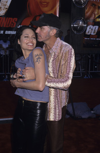 "Angelina Jolie and Billy Bob Thornton at the premiere of ""Gone in Sixty Seconds""2000© 2000 Gary Lewis - Image 22776_0022"