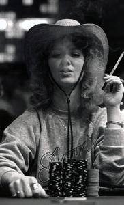 """Poker Face""Debbie circa 1970s © 1978 Ulvis Alberts - Image 22802_0006"