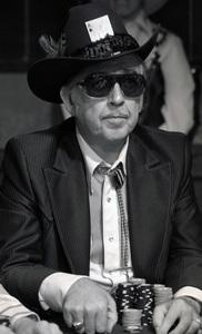 """Poker Face""""Oklahoma Johnny"" Halecirca 1970s © 1978 Ulvis Alberts - Image 22802_0007"