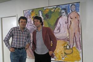 Robert De Niro with his father Robert Sr.1980 © 1980 Gunther - Image 2280_0009