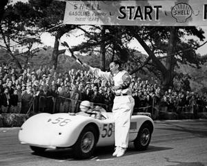 CarsGolden Gate race 1953Masten Gregory car # 58Jaguar C Type** H.C. - Image 22813_0004