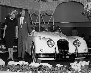 CarsJaguar XK 150 circa 1958, New York motor show, Charles Hornburg** H.C. - Image 22813_0006