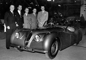 CarsJaguar XK 120 Prototype at Earl