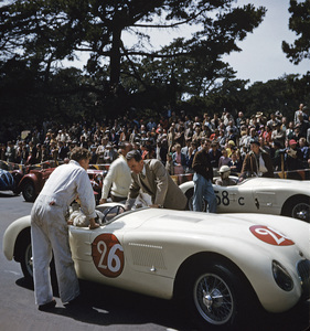 Cars1953 Jaguar C TypeGolden Gate Race May 1953Masten Gregory Car # 58, S. Edwards Car # 26, Charles Hornburg** H.C. - Image 22813_0013