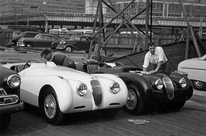 CarsJaguar XK120 Factory race cars circa 1951** H.C. - Image 22813_0016