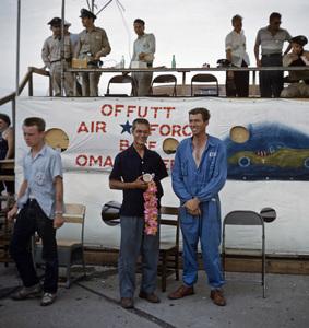 CarsJuly 1953, Offeth FieldWinner Masten Gregory, 2nd place Carroll Shelby** H.C. - Image 22813_0019