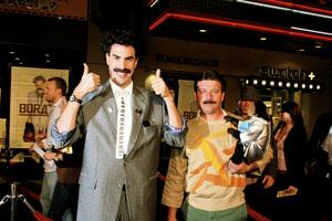 """Borat: Cultural Learnings of America for Make Benefit Glorious Nation of Kazakhstan"" (Premiere)Sacha Baron Cohen10-23-2006 / Grauman"